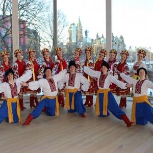 Svitanok Ukrainian Dance Society ©F. Zemanek